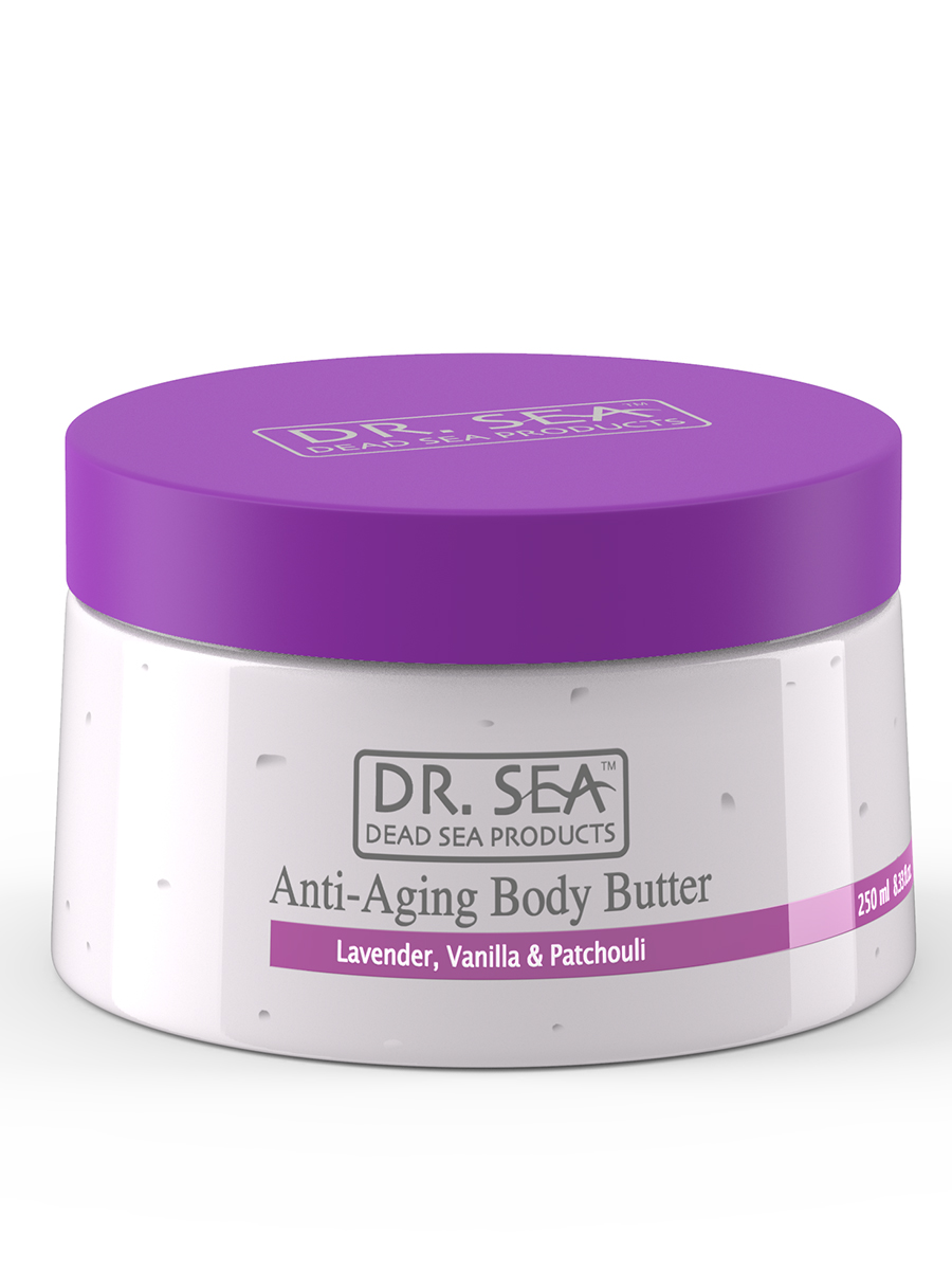 Anti-Aging Body Butter - Lavender, Vanilla& Patchouli